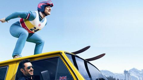 Eddie the Eagle from Olympics on Film