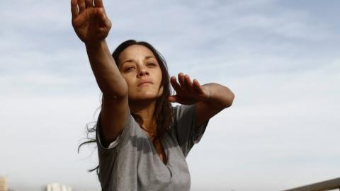 Marion Cotillard on Rust and Bone