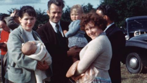Llanarmon: 1958 Sheepdog Trials