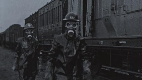 Repairing Track After Mustard Gas Attack