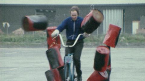 Cycling Stunt Man