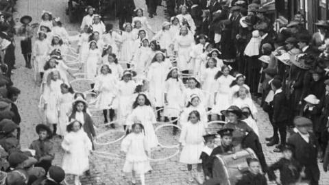 Rose Queen Carnival 7th June 1913