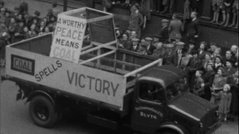 Victory Parade Newcastle upon Tyne 8 June 1946