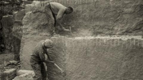 Portland Stone Quarrying