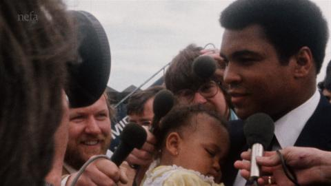 Muhammad Ali Visit to the North East
