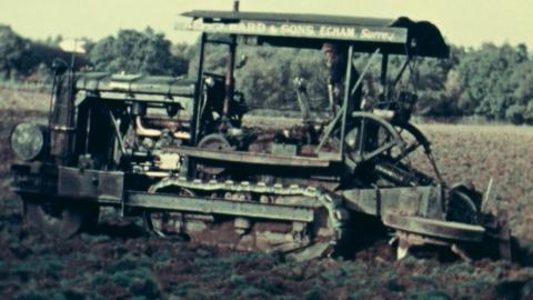 Rotatiller and Caterpillar Tractor, Oct. and Nov. 1938