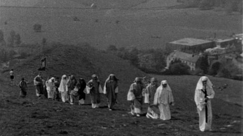 Ancient Beltane Festival at Glastonbury Tor
