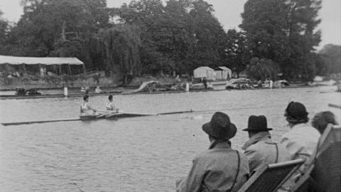 Rowing in Henley 1948 Olympics