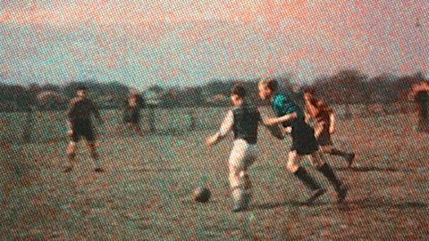 Regimental Football Match and an Outdoor Stew