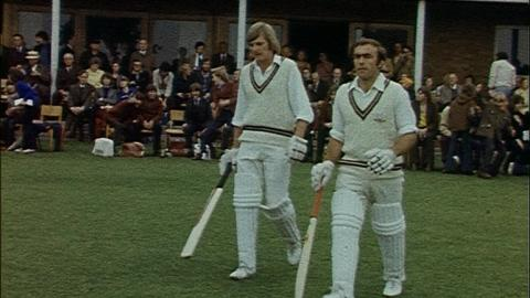 Surrey v Lincolnshire - The Gillette Cup 1974