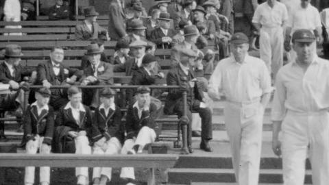 Notts V. Surrey, 1932; Notts V. Glos. 1932; And Notts V. all-india 19