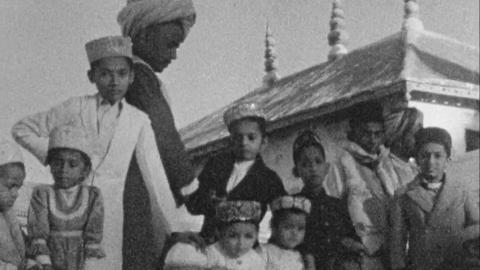 Wedding of Maharaj Kumar Shri Meghrajji Shaeb of Kutch and Maharaj Shri of Kishangarh, 1933