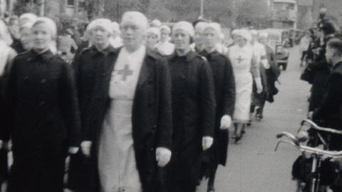 Civil Defence parades in pre-war Croydon