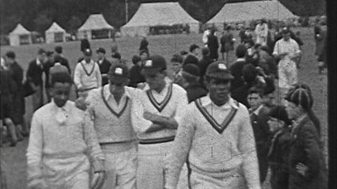 West Indies Cricketers in Norwich, 1939