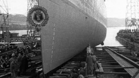 Devonport Launch of HMS Cleopatra