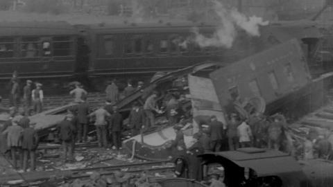 Fatal Train Smash