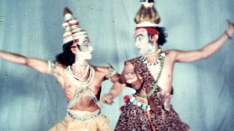 Dancers at Trivandrum Gopinath