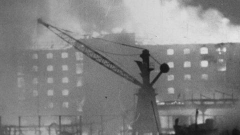 Surrey Commercial Docks, Enemy Action September 7 1940