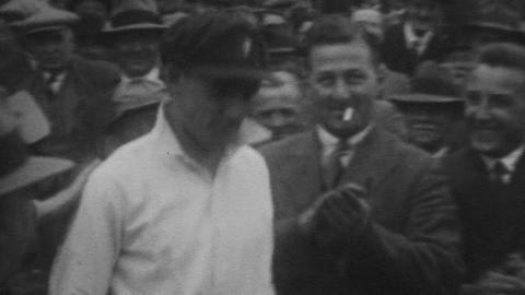Test Match England v Australia at Manchester July 1930