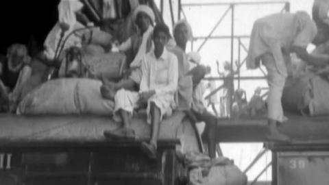 Lahore - Refugees from India