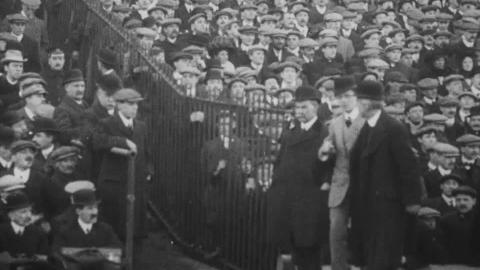 Fourth round English Cup Newcastle United V Derby County March 11 1911