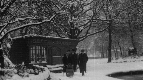 Bradford Under Snow