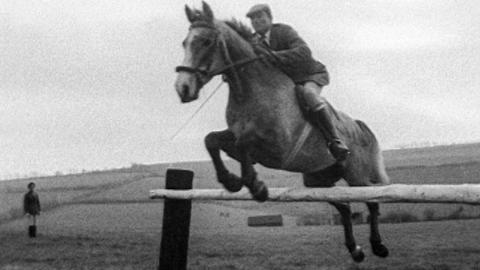 Olympian Equestrian Eventer and Trainer Bertie Hill