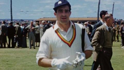 Johnny Wardle Home Movies - England in Australia 1958/59; Centenary Test, 1977