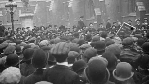 Suffragette Riots at Westminster