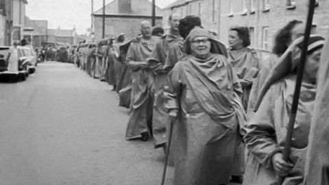 Gorsedh Procession through St Just