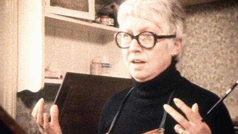 Beryl Cook at Home