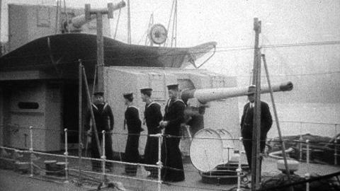 Oil Tanker Wellfield; HMS Bulldog Torpedo Boat Destroyer
