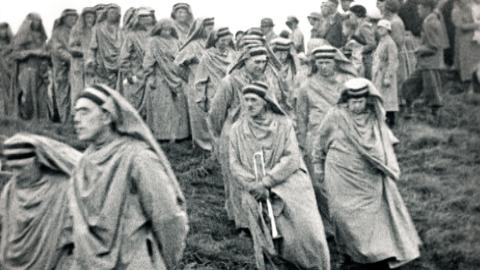 Early Gorsedh Procession
