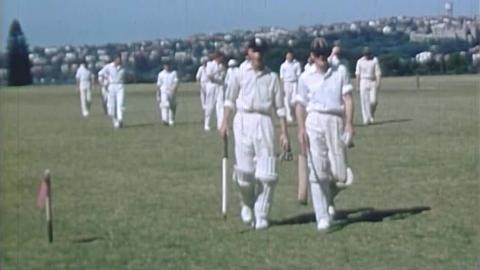 Alec Bedser Cricket Home Movies: MCC Tour of Australia 1954