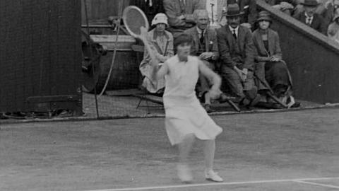 English Victory at Wimbledon