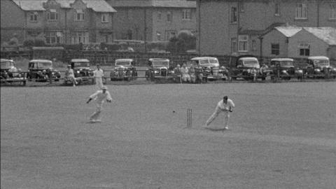 Cricket 1952 (Featuring Locations in Ilkley and Sleights)