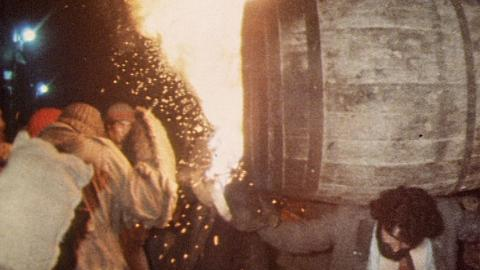 The Flaming Tar Barrels of Ottery St Mary