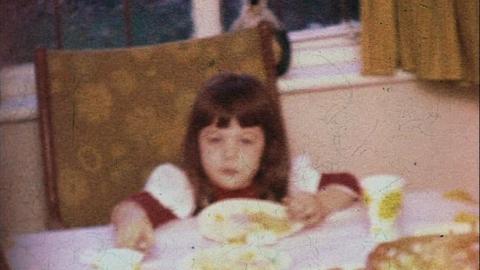 Watts Family Films: Karen's Third Birthday, Epsom (1976)