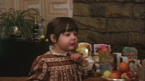 Watts Family Films: Karen's Second Birthday, Epsom (1975)