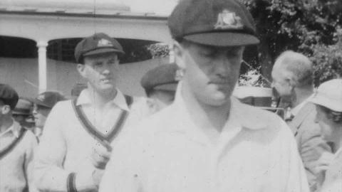 Kent V Australia Cricket 1934  Kent V Derbyshire Cricket  Purkiss Family Film No.15