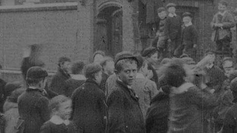 Children Leaving Christ Church Schools, Rhyl