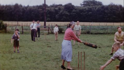 Scout Camp and Cricket