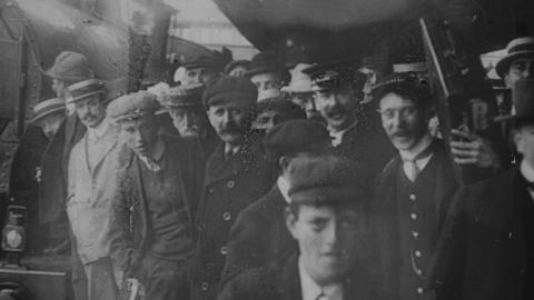 First Through Train from Euston to Rhyl, 1908