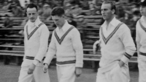 Notts V. Surrey, 1933; Notts V. Yorks., 1934; Notts V. Hants., 1934;