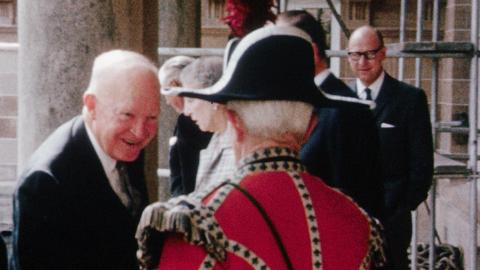 Dwight Eisenhower in Hillsborough and assorted other scenes