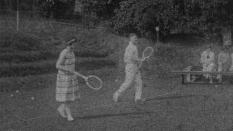 O.G.A. Tennis Party - 30th June 1927