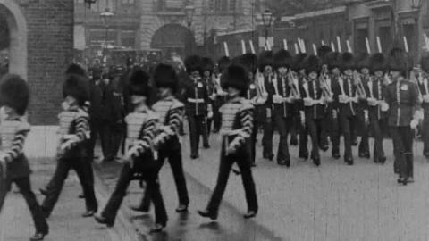 England: Changing Guard at Horse Guards and St. James's Palace