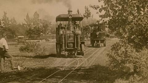 The Stronach-Dutton Road-Rail Tractor