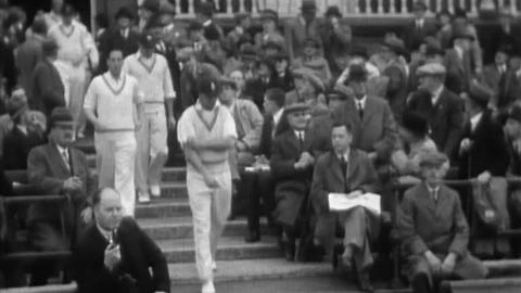 England V. South Africa Test Match, 15th, 17th, And 18th June 1935