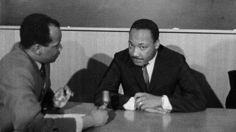 13 November 1967:  Martin Luther King Interview